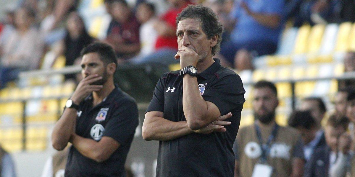 """Mario Salas no se fue muy feliz tras nueva derrota de Colo Colo: """"Molesta el hecho de no ganar, pero se avanza"""""""