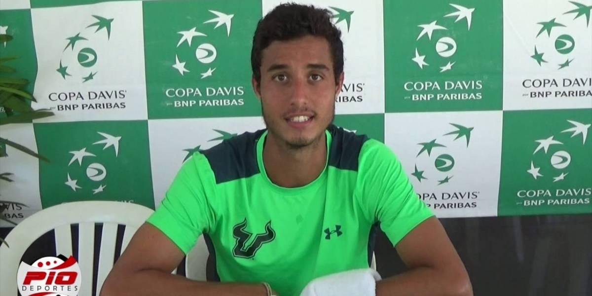 Roberto Cid será becado por la Federación Internacional de Tenis