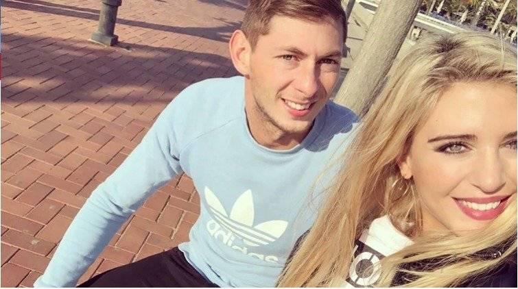 Emiliano Sala y su novia Instagram