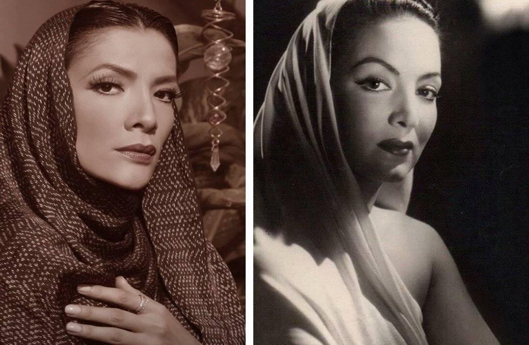 María del Carmen y María Felix