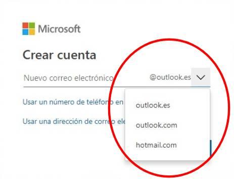 Hotmail nuevo 2019