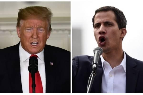 Donald Trump y Juan Guaidó