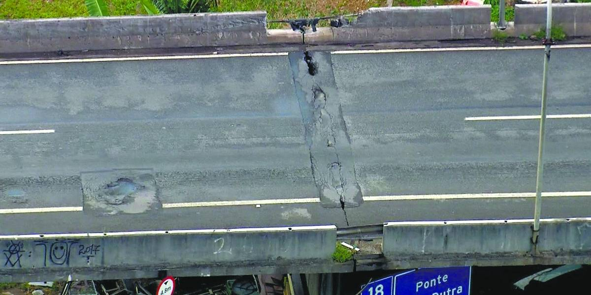 Prefeitura fecha ponte na marginal Tietê por risco de desabamento; veja alternativas