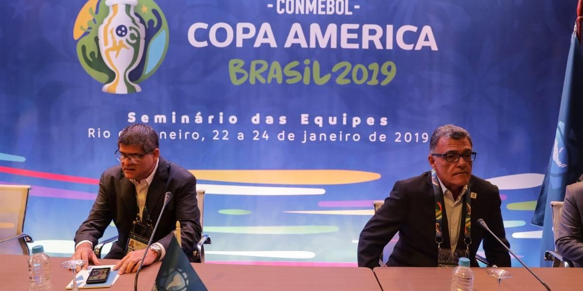 Estos son los rivales de Ecuador en la Copa América 2019
