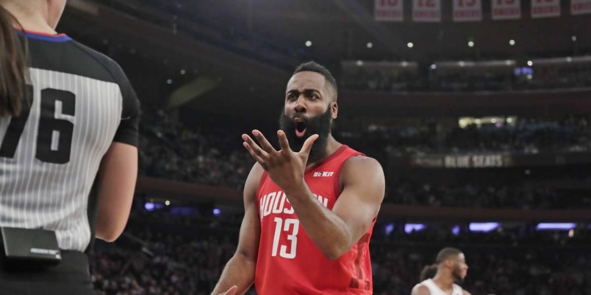 ¡Imparable! Harden sigue anotando en grande para impulsar a sus Rockets