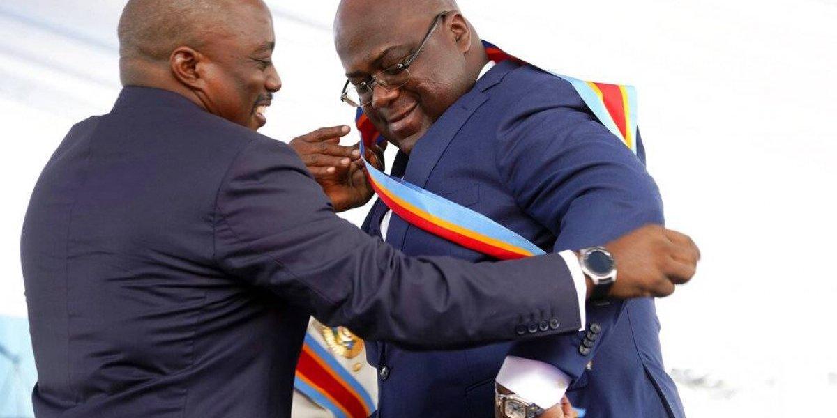 Nuevo presidente del Congo promete liberar presos políticos