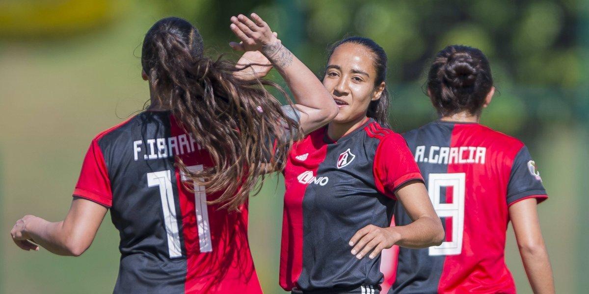 Atlas femenil golea por 4-0 a Querétaro