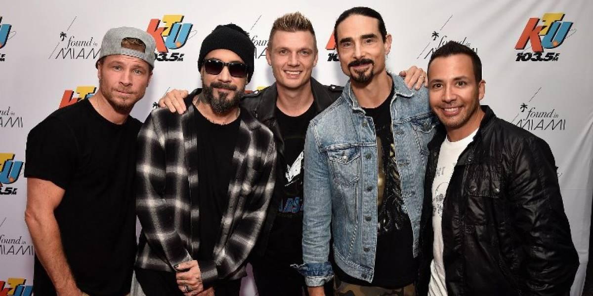 Backstreet Boys son confirmados para el Festival de Viña 2019