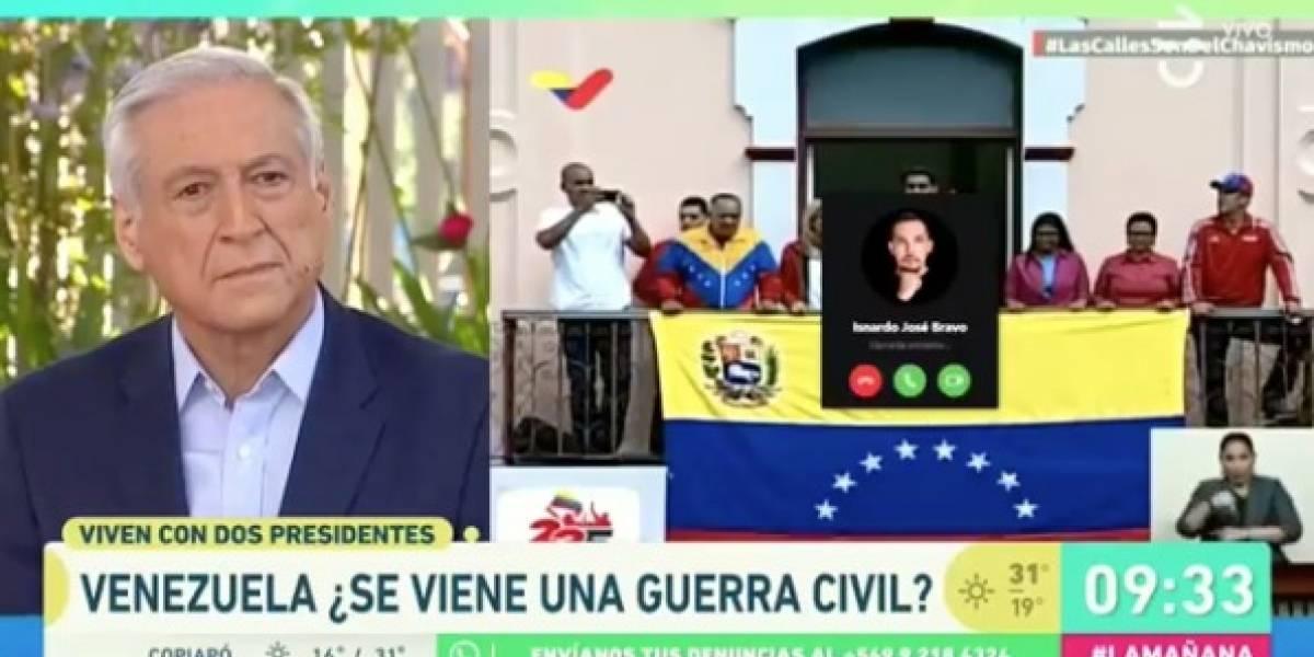"""El chascarro de """"La Mañana"""" de CHV que sorprendió a Heraldo Muñoz"""
