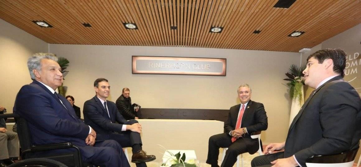 En la reunión multilateral se analizó la situación de Venezuela y sus vías democráticas de solución