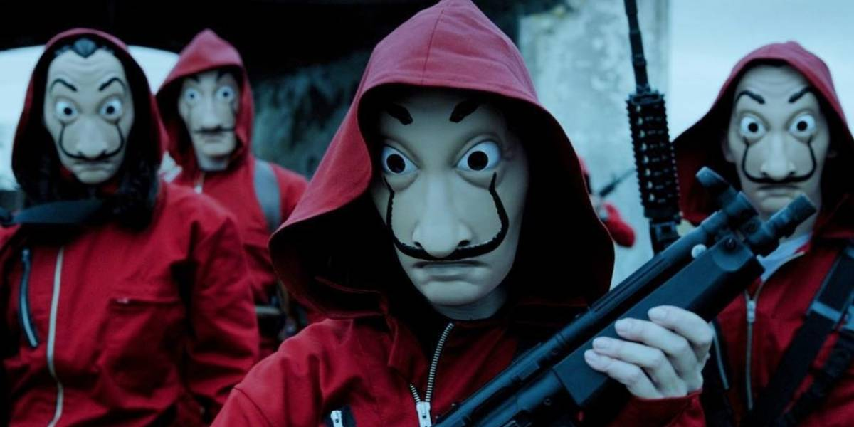 """Productora de """"La Casa de Papel"""" responde a la Fundación de Salvador Dalí sobre la máscara que utilizan en la serie"""