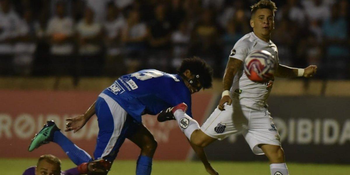Soteldo le respondió a Sampaoli y anotó un golazo en su estreno con Santos por el Paulista