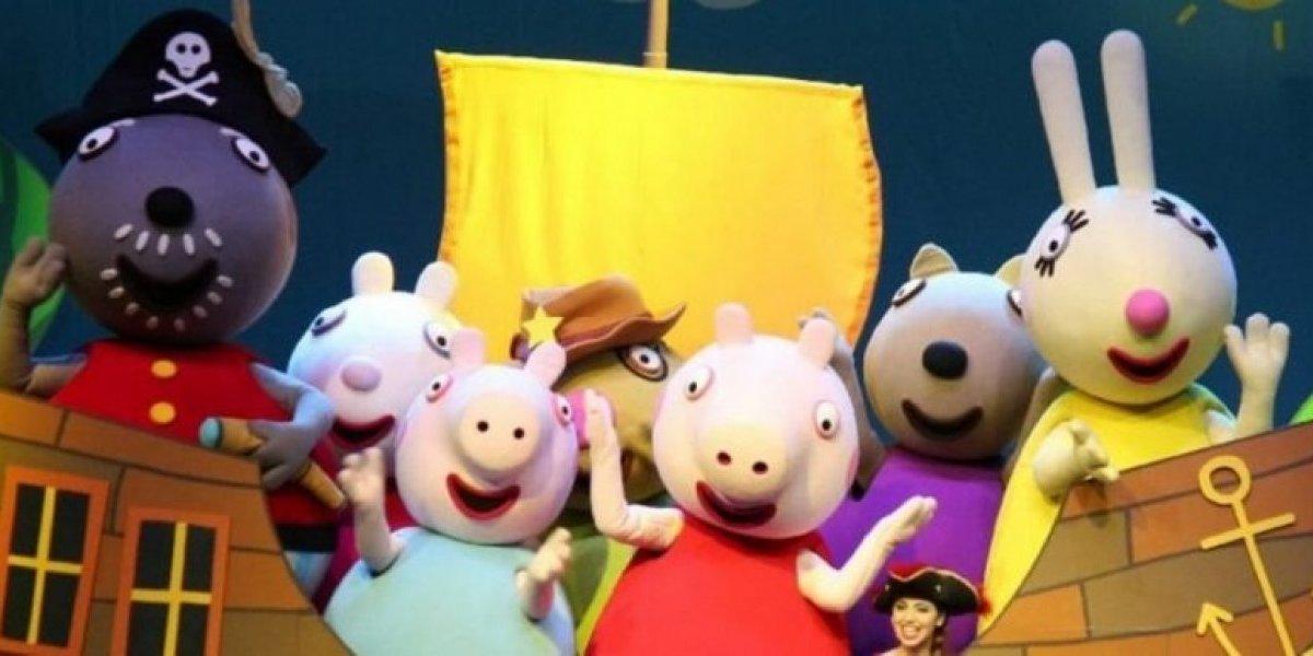 Peppa Pig jugará a lo grande este fin de semana en el TN