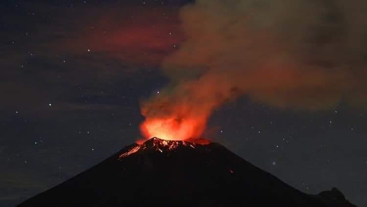 México Popocatépetl
