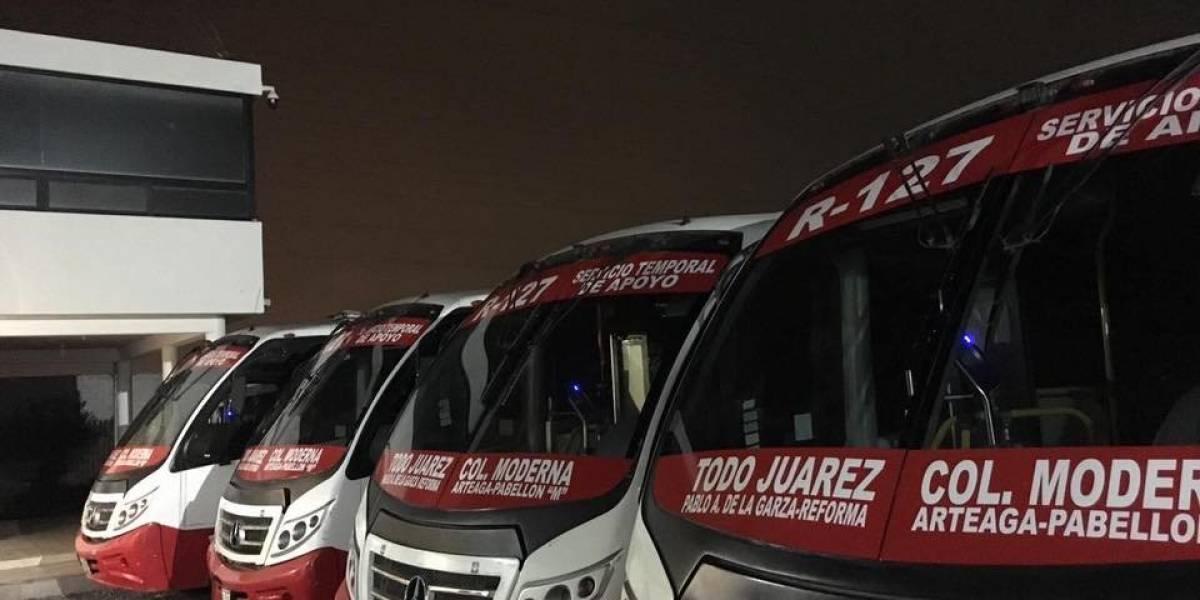 Transporte público en Nuevo León a punto de colapsar por falta de servicio