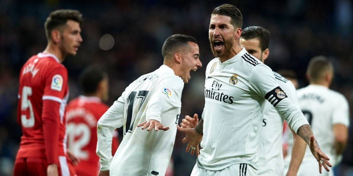 Real Madrid comienza a levantar cabeza a costa del duro Girona y un inspirado Sergio Ramos