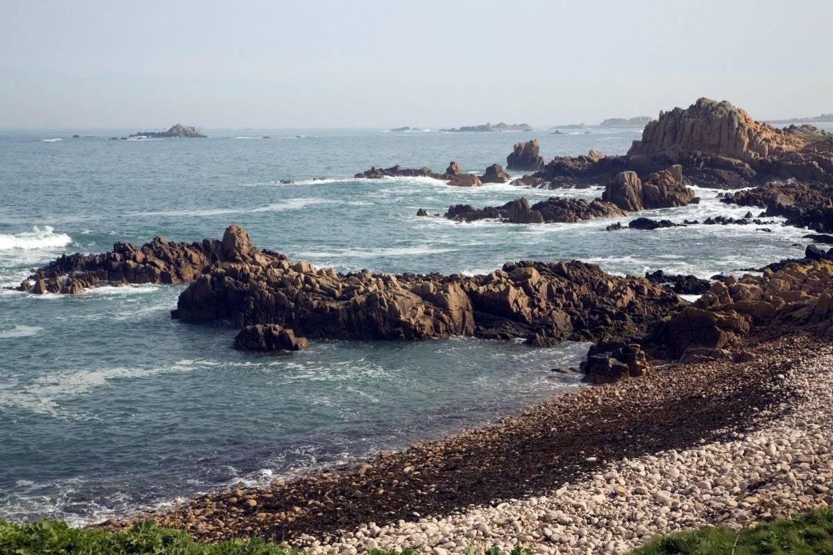 Fue el último punto donde la aeronave fue localizada en el radar Isla de Guernsey-Getty Images