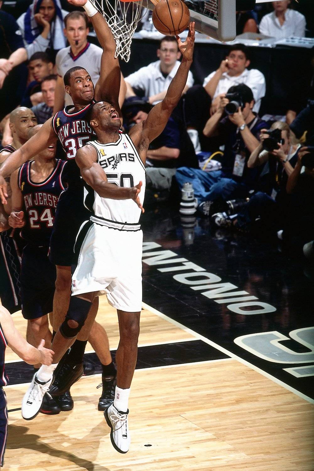 David Robinson. / Getty Images