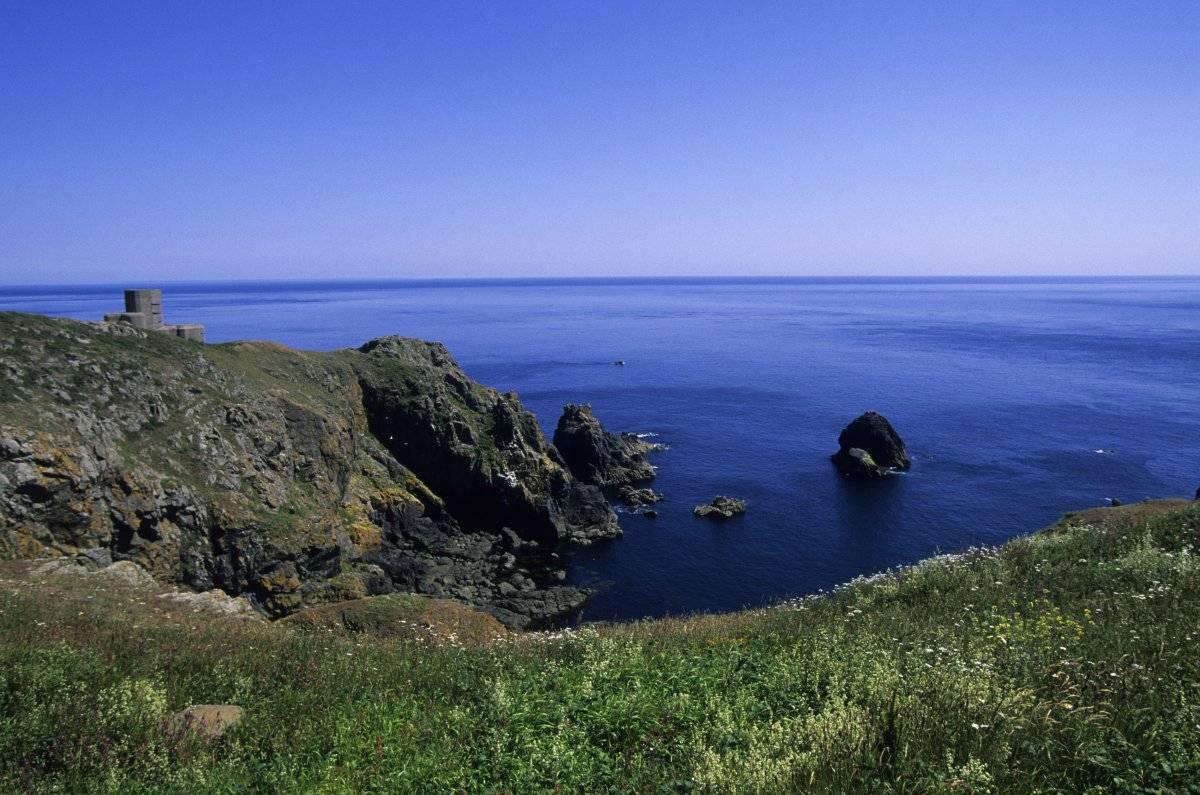 Fue el último lugar donde la aeronave fue localizada por el radar Isla de Guernsey-Getty Images