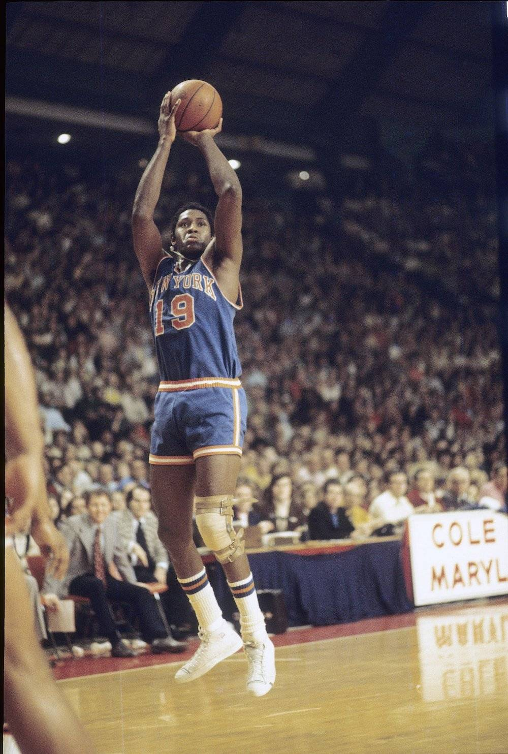 Willis Reed. / Getty Images