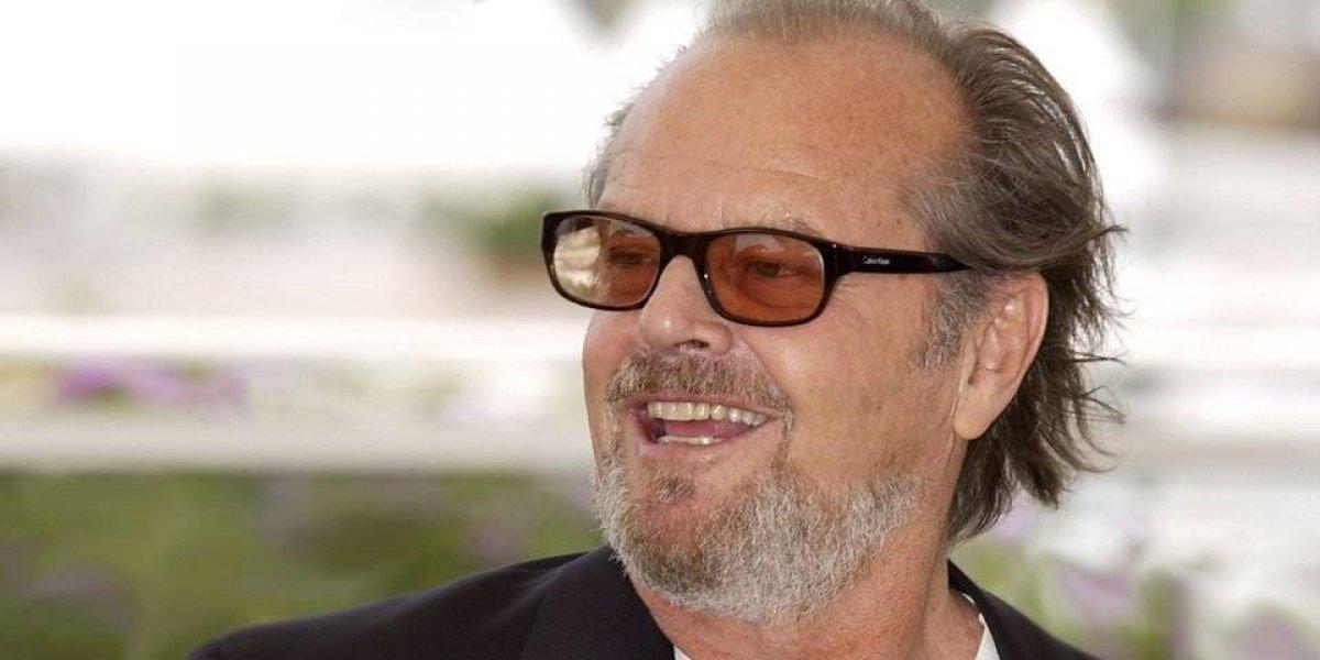 FOTOS. Impacta el nuevo aspecto de Jack Nicholson con varias libras de más