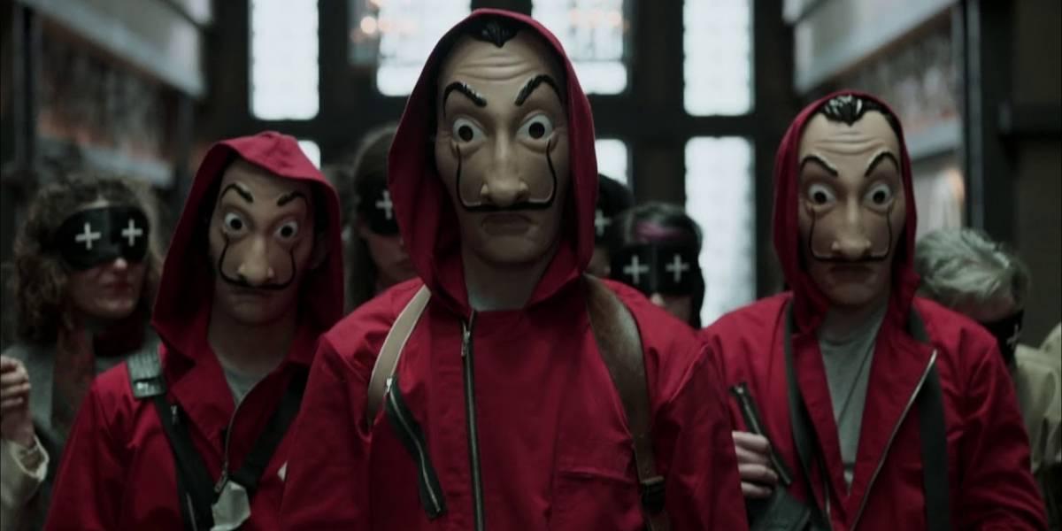 """Elenco de """"La casa de papel"""" tendría prohibido usar las máscaras de Dalí"""