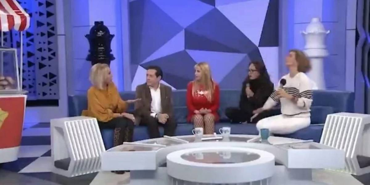 Yolanda Andrade se enoja con Laura Bozzo y la corre de su programa