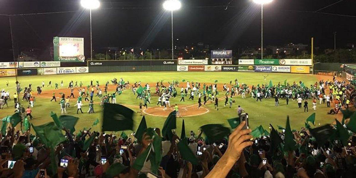 Las Estrellas Orientales, campeonas del béisbol dominicano
