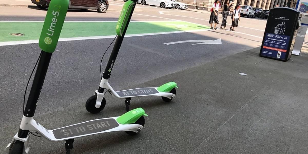 Chile: Usuario de Lime termina con la muñeca fracturada luego de extraño accidente en scooter