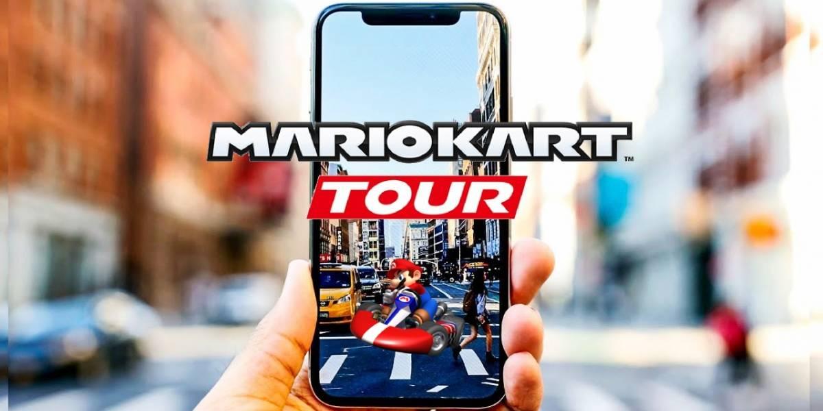 Mario Kart Tour se estrenará en smartphones en marzo del 2019