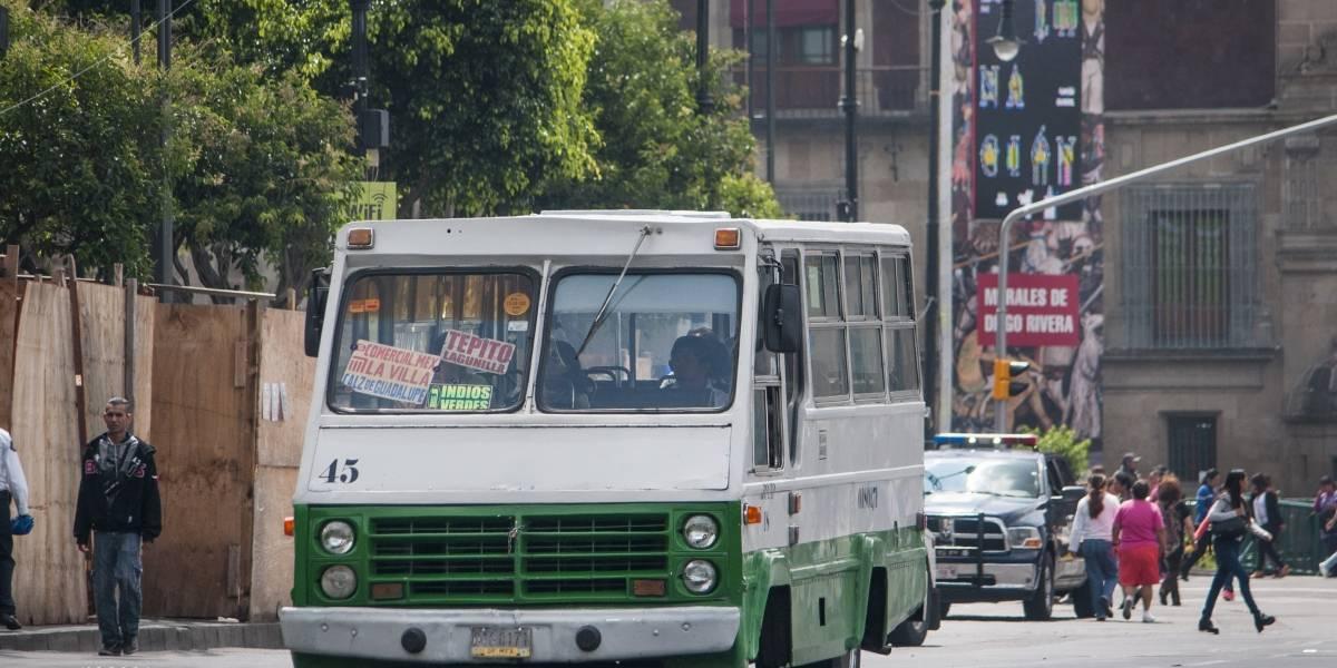 Dan a conocer las rutas más peligrosas del transporte público