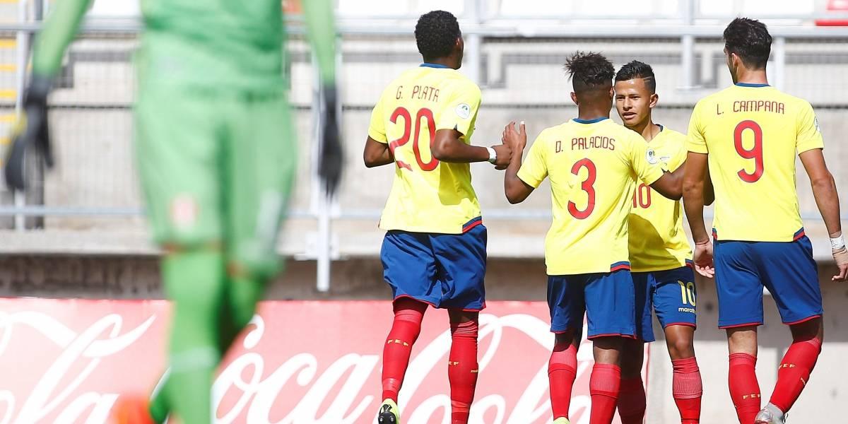 Ecuador pasa al hexagonal del Sudamericano Sub20