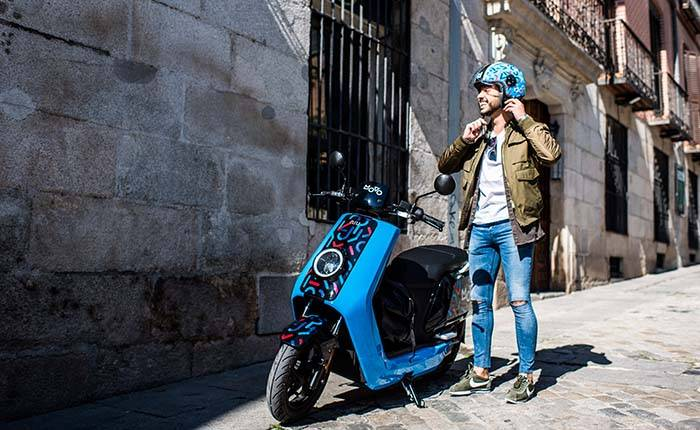 Cabify scooters
