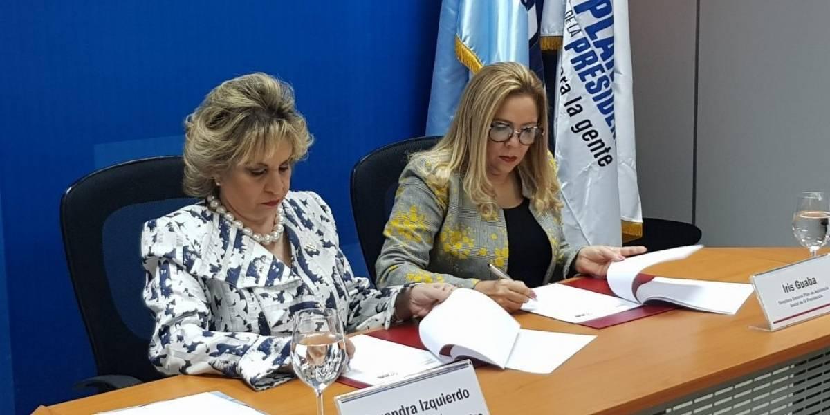 Firman acuerdo para producir y difundir estadísticas sobre programas de asistencia a la población más vulnerable