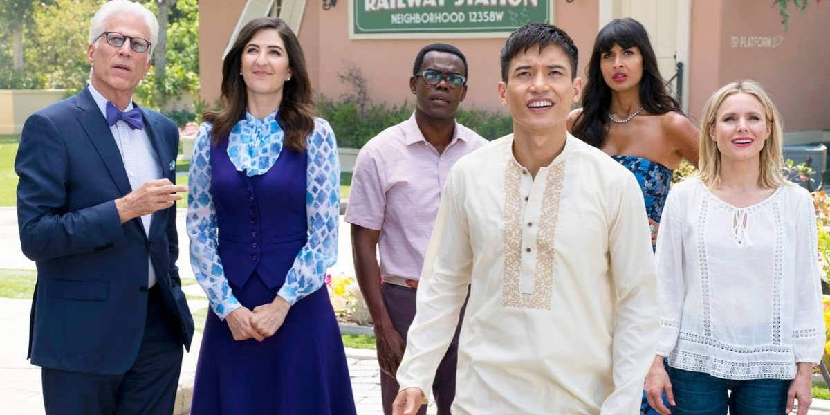 "El elenco de ""The Good Place"" le hizo una petición a Amazon y Apple"