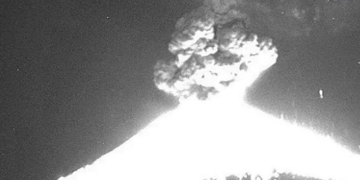 ¿La reciente explosión del Popocatépetl debería alarmar a la población?