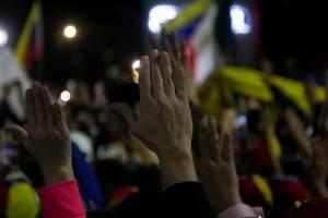 Manifestación contra Maduro en la CDMX