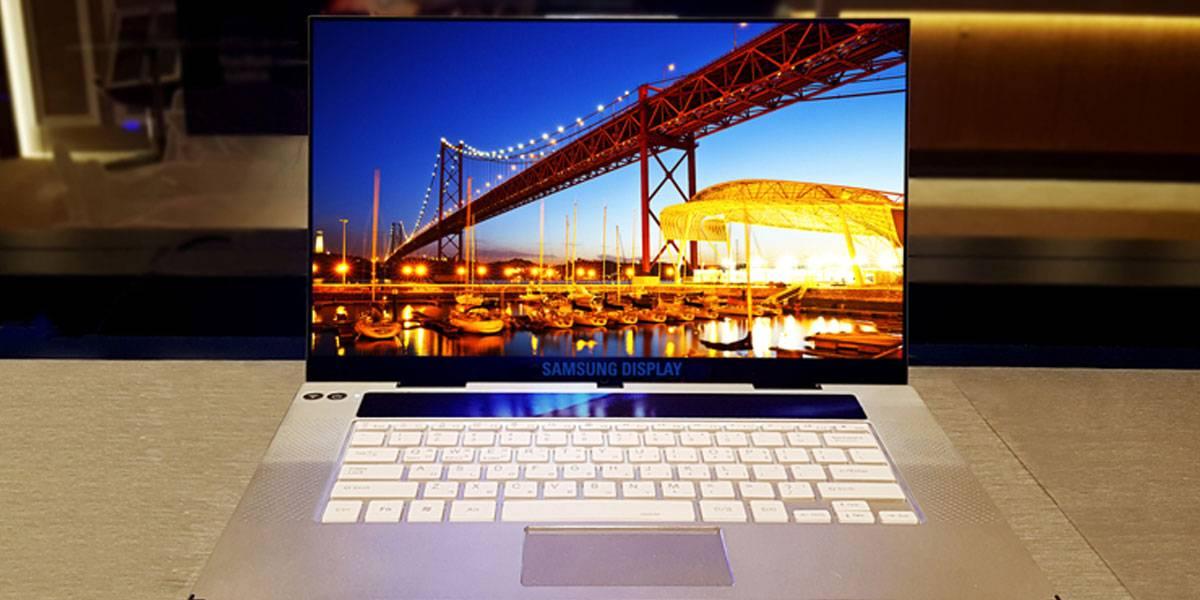 Revientan los ojos: Samsung presenta su primera pantalla 4K OLED para laptops