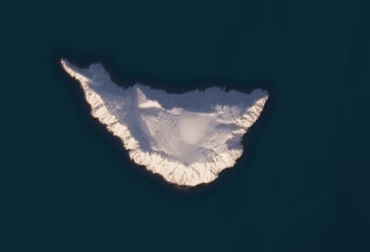 Google Maps isla rusa