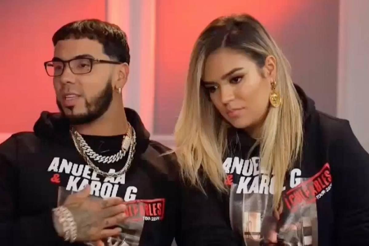 Anuel AA y Karol G hablan de su ...