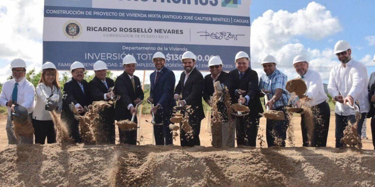Anuncian construcción de proyecto de vivienda mixta en Caguas