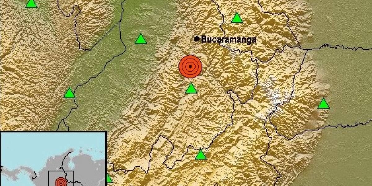 Temblor sorprende a Colombia y alcanza los 5,4 grados Richter