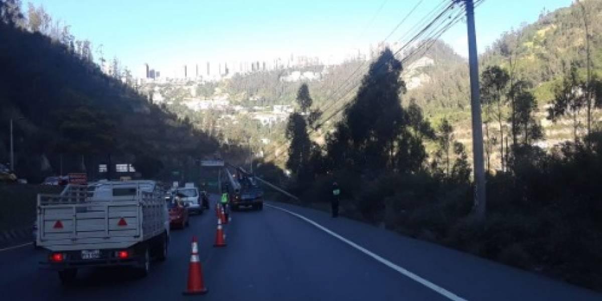 Accidente en la Simón Bolivar: Congestión vehicular, se recomienda tomar vías alternas