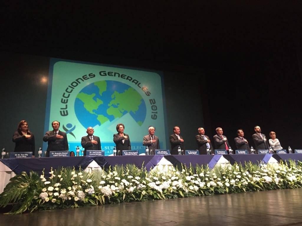 Los magistrados del TSE ya fueron notificados sobre el fallo de la CC por el caso de Zury Ríos. Foto: Omar Solís