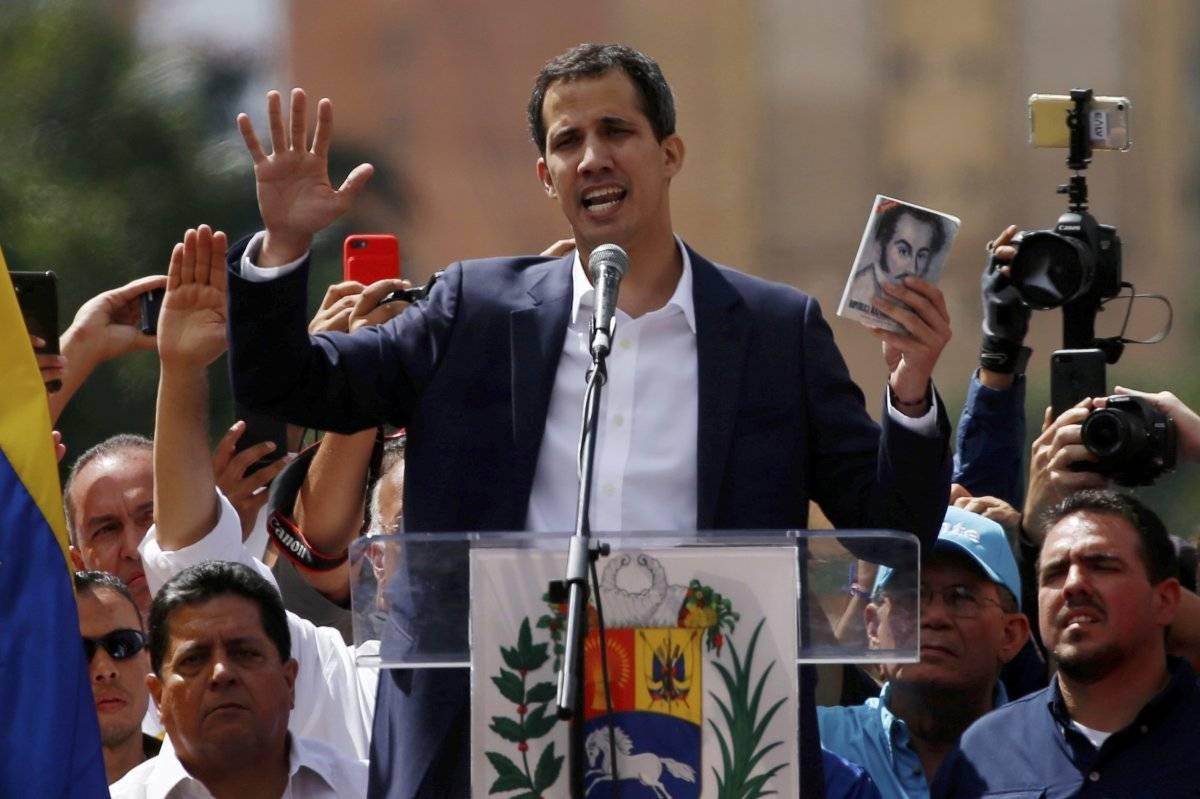 Juan Guaidó, autoproclamado presidente de Venezuela Foto: AP