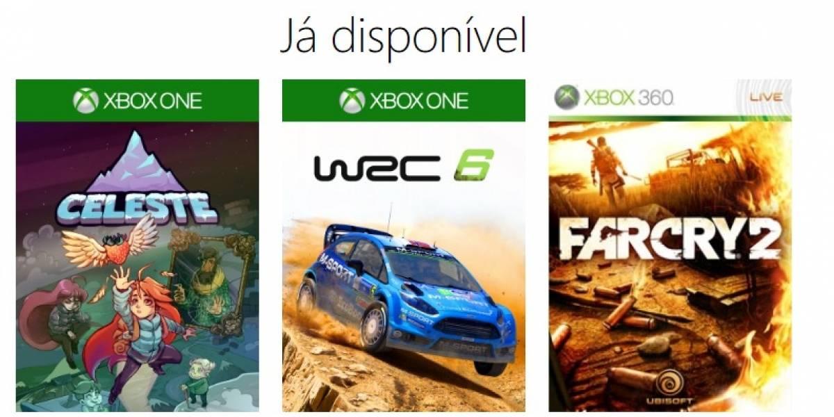 Estes são os jogos novos que vão entrar no catálogo Gold do Xbox One em fevereiro