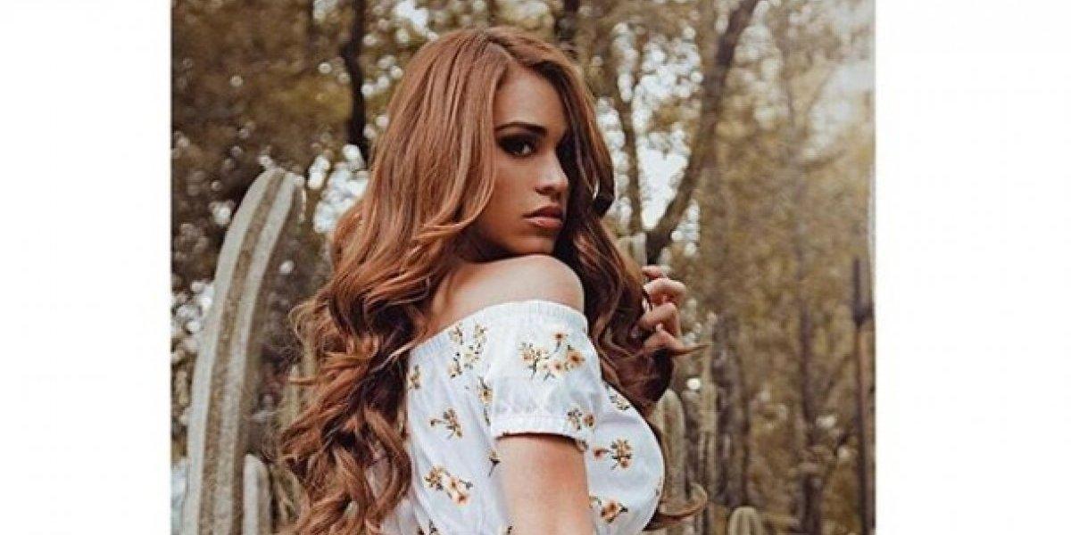 """La sensual invitación de Yanet García, """"la chica más linda del clima"""""""