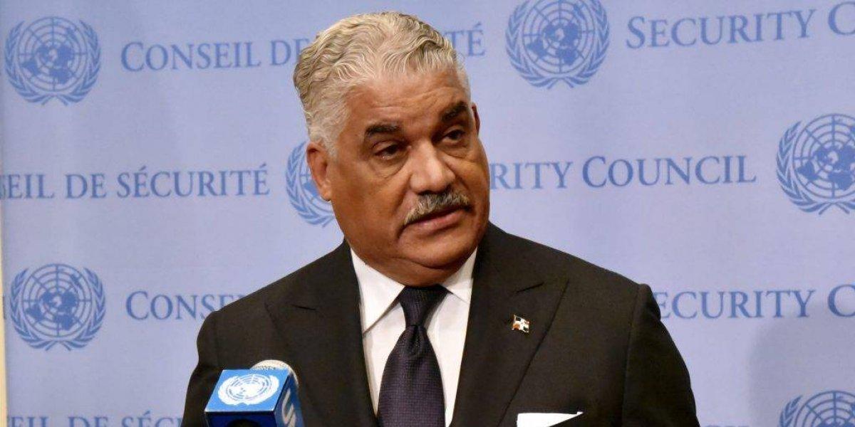Miguel Vargas irá a reunión del Consejo de Seguridad ONU sobre Venezuela