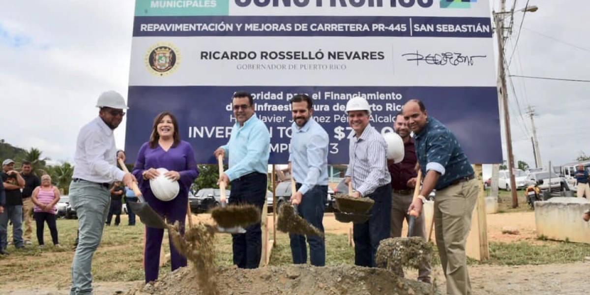 Gobernador supervisa proyectos en desarrollo en San Sebastián
