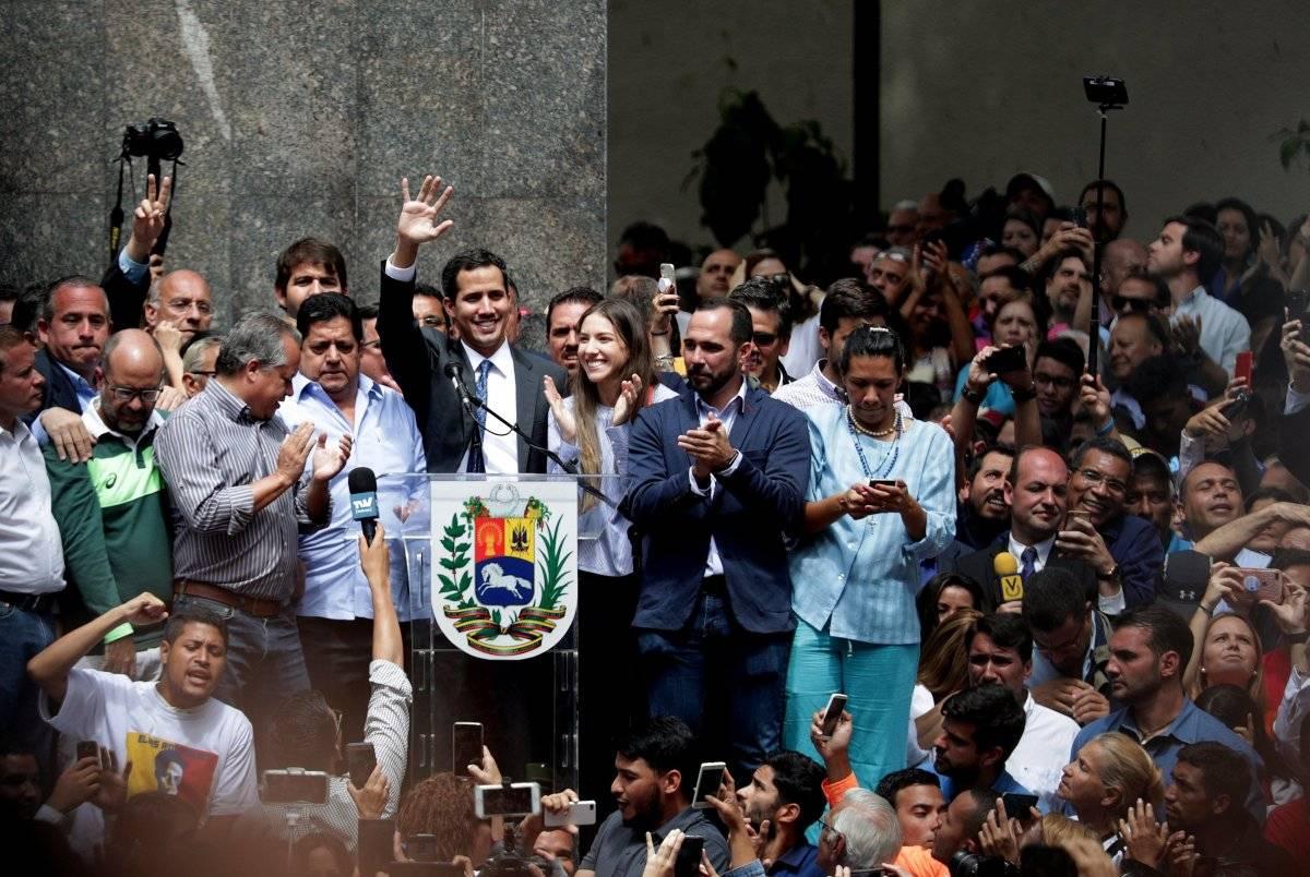 Jefe del Parlamento venezolano, Juan Guaidó EFE